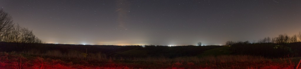 Greene County Observing Site at Night